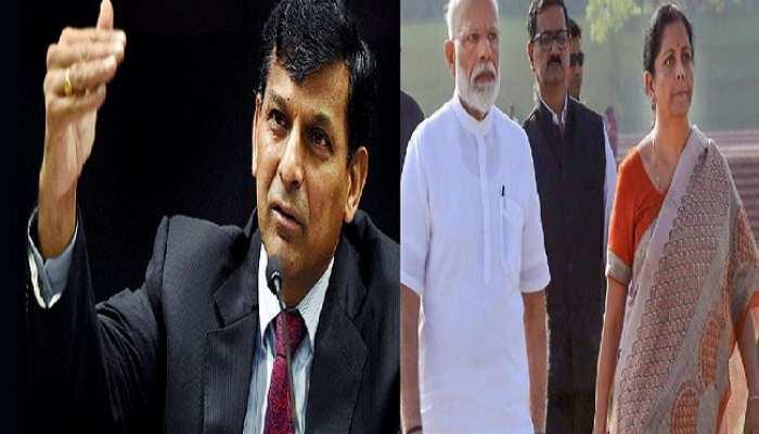 अर्थव्यवस्था: रघुराम राजन ने सरकार को घेरा, बोले- बहुत धीमी है देश की विकास दर
