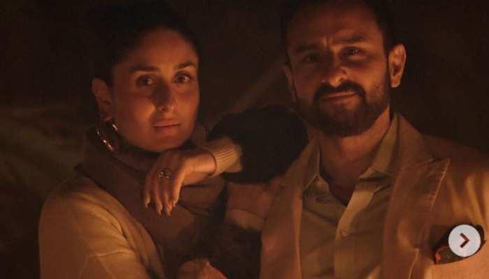 Saif Ali Khan and Kareena Kapoor romantic Photos viral