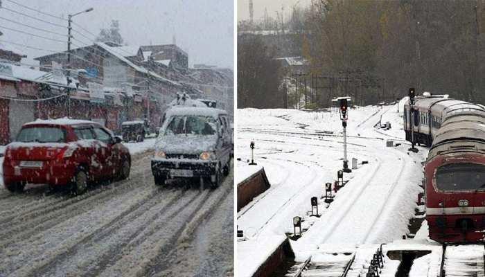 कश्मीर घाटी में शीतलहर का कहर जारी, सभी स्कूल किए गए बंद