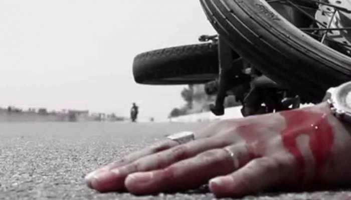 नागौर में हुआ दर्दनाक सड़क हादसा, बाइक सवार की मौत