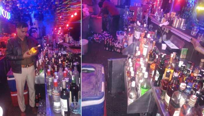 गौतमबुद्ध नगर: भारी मात्रा में अवैध शराब बरामद