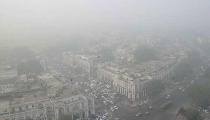 दिल्ली-एनसीआर में फिर खतरनाक स्तर पर प्रदूषण, AQI 500 के करीब