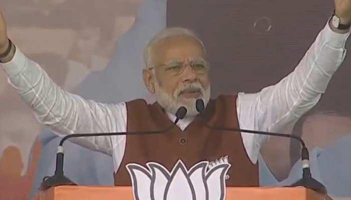 नॉर्थ-ईस्ट में आग लगाने की कोशिश कर रही है कांग्रेस, CAB पर बोल रही है झूठ: PM मोदी