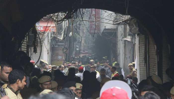 अनाज मंडी अग्निकांड पर बड़ा खुलासा, हादसे के वक्त फैक्टरी में काम कर रहे थे 12 नाबालिग, 5 की मौत