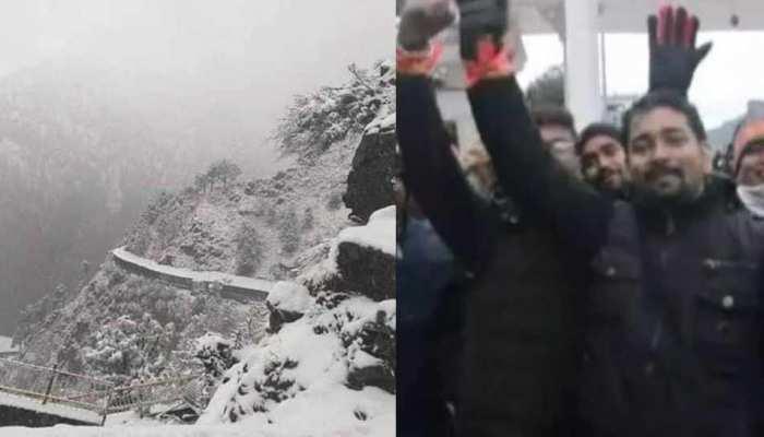 माता वैष्णो देवी के भक्तों के लिए अच्छी खबर, बर्फबारी से मंदिर मार्ग में रुकावट नहीं