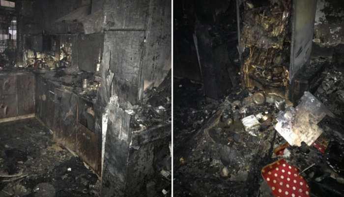 दिल्ली: शालीमार बाग इलाके के एक घर में लगी आग, 3 लोगों की जलकर मौत