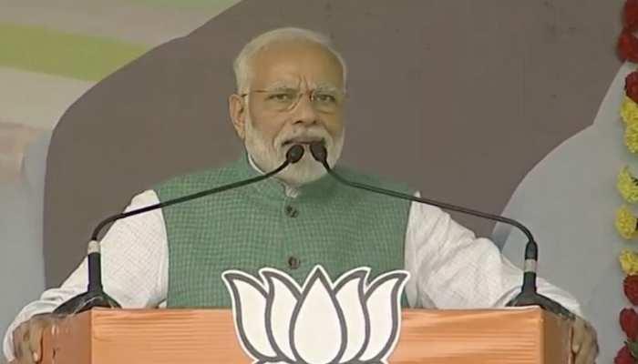 दुमका रैली में बोले PM मोदी, बीजेपी का विरोध करते-करते कांग्रेस देश विरोधी हो गई है