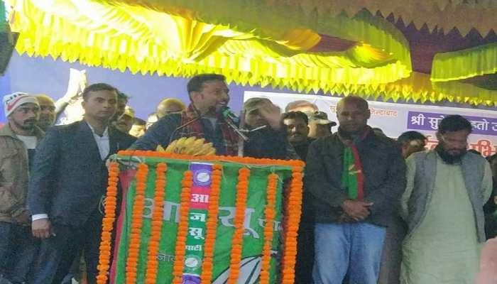 झारखंड चुनाव: सुदेश महतो का हेमंत सोरेन पर निशाना, कहा- 'विरासत में नहीं मिली राजनीति'