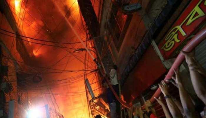 बांग्लादेश: इलेक्ट्रिक पंखों की फैक्ट्री में लगी भीषण आग, 10 की मौत