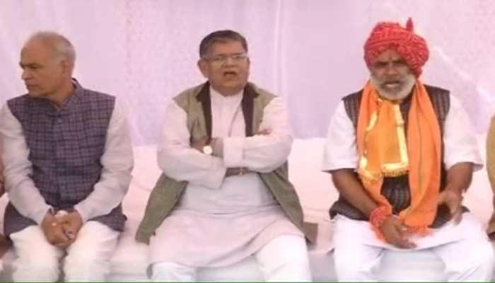 उदयपुर: गहलोत सरकार के खिलाफ BJP का उपवास प्रदर्शन, गुलाबचंद कटारिया ने किया कटाक्ष