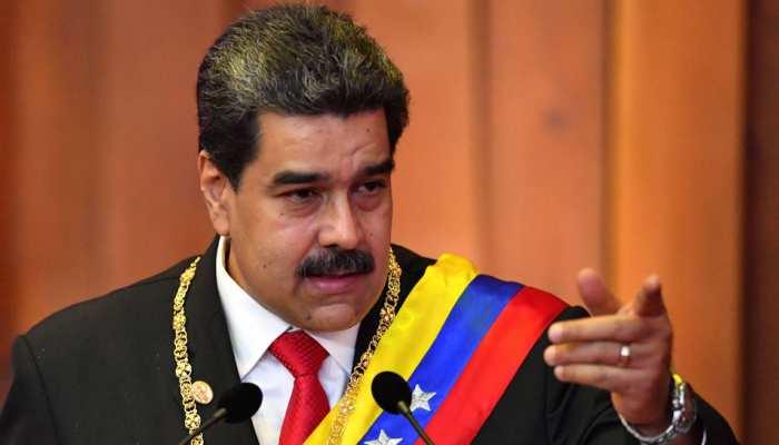 वेनेजुएला : निकोलस मादुरो ने विपक्ष, अमेरिका पर हमले की साजिश का आरोप मढ़ा