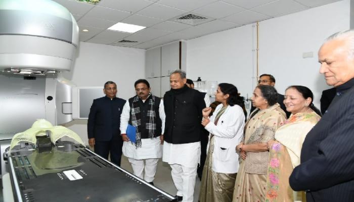 जयपुर में लगी रेडिएशन थैरेपी की नवीनतम मशीनें, सीएम गहलोत ने किया उद्घाटन
