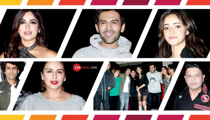 Pati Patni Aur Woh success bash: Kartik Aaryan, Bhumi Pednekar and Ananya Panday party all night