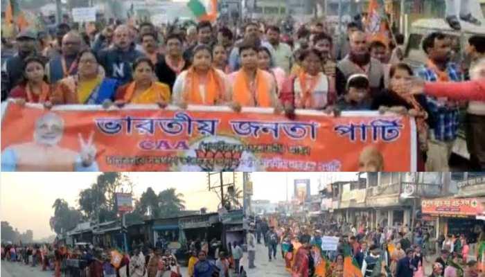 बंगाल के इस इलाके में हो रहा है CAA का जबरदस्त समर्थन