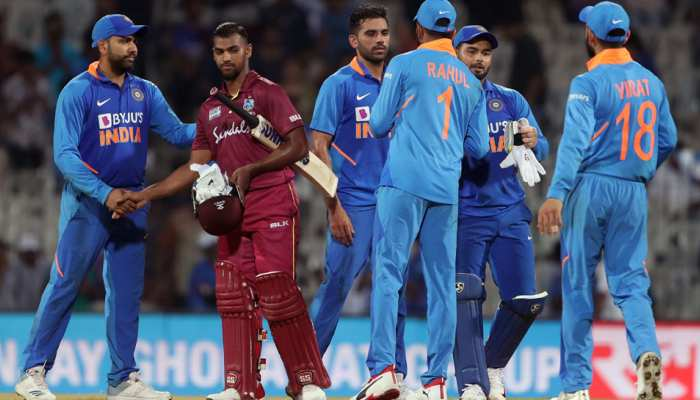 INDvsWI Vizag ODI: टीम इंडिया की सीरीज में शानदार वापसी, विंडीज को 107 रन से दी मात