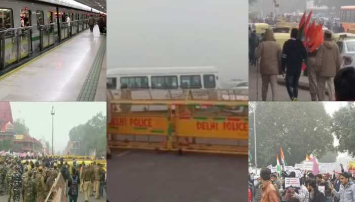 CAA विरोध के नाम पर पूरी दिल्ली अस्त व्यस्त कर दी प्रदर्शनकारियों ने