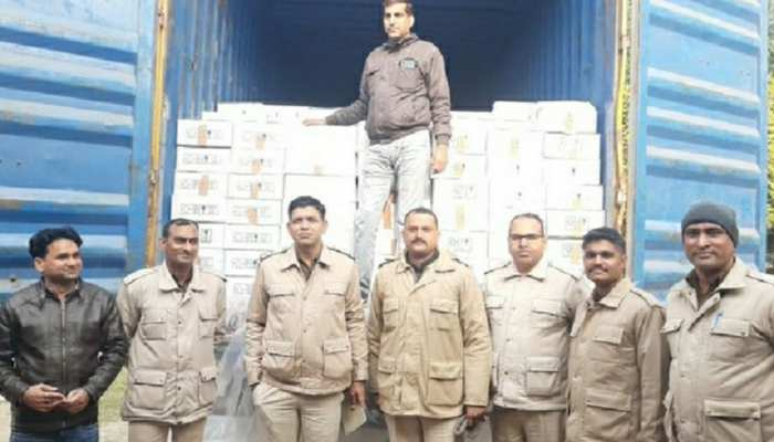 हनुमानगढ़: पंचायत चुनावों से पहले पकड़ी गई 80 लाख की शराब, खपाने की थी पूरी तैयारी!