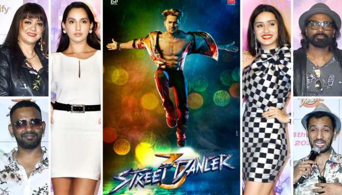 Varun Dhawan And Shraddha Kapoor etc Street Dancer 3D Movie trailer launch, See Pics