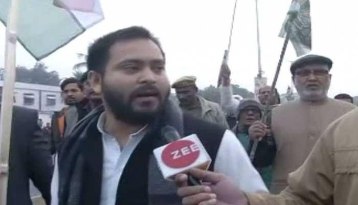 पटना: RJD बोली- 'बिहार बंद' होगा सुपरहिट, एक दिन पहले पार्टी ने निकाला मशाल जुलुस