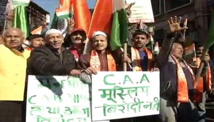 CAA के समर्थन में जम्मू में प्रदर्शन, कानून के समर्थन में भी देश के कई शहरों में मार्च