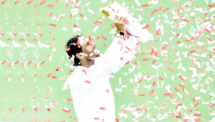 राफेल नडाल ने 5वीं बार जीती विश्व चैंपियनशिप, पहला सेट हारकर भी खिताब जीता