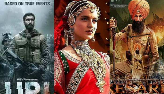 In 2019, these Bollywood films unleashed patriotic strings!