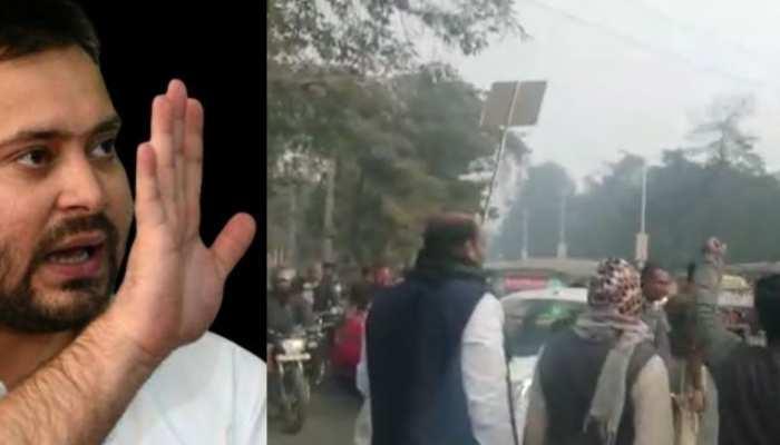नागरिकता कानूनः बिहार बंद में हुई थी हिंसा, तेजस्वी यादव के खिलाफ FIR