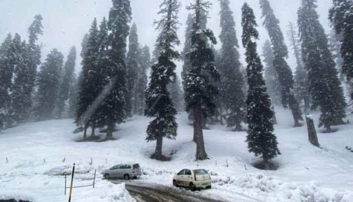 कश्मीर में चिल्ले कलां ने दी दस्तक, भारी बर्फबारी के चलते पारा -9 डिग्री से भी नीचे