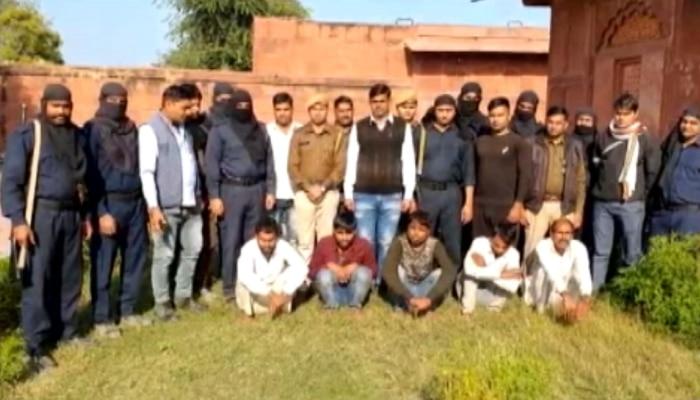 धौलपुर: गब्बर सिंह गुर्जर गैंग के पांच डकैत गिरफ्तार, बड़ी वारदात की कर रहे थे प्लानिंग