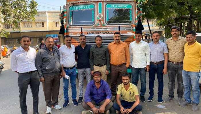 नए साल से पहले गुजरात के राजकोट में 38 लाख रुपए की विदेशी शराब जब्त