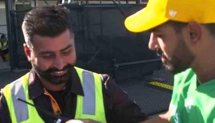 बिग बैश लीग: पाकिस्तानी पेसर हैरिस रउफ ने जीता दिल, भारतीय गार्ड को दे दिया...