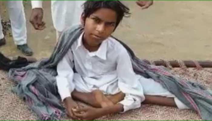 सादुलशहर: 15 साल के बेटे को चलता देखने के लिए दर-दर की ठोकरें खा रही मां, प्रशासन बना अंजान