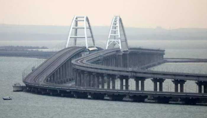रूस ने समुद्र पर बने 19 किलोमीटर लंबे पुल का उद्धाटन किया