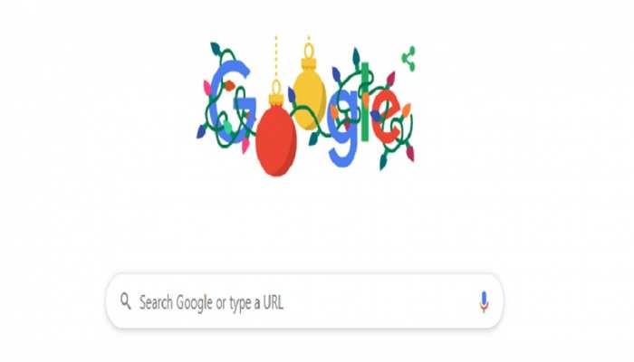 Merry Christmas 2019: क्रिसमस के मौके पर Google ने Doodle बनाकर दी बधाई