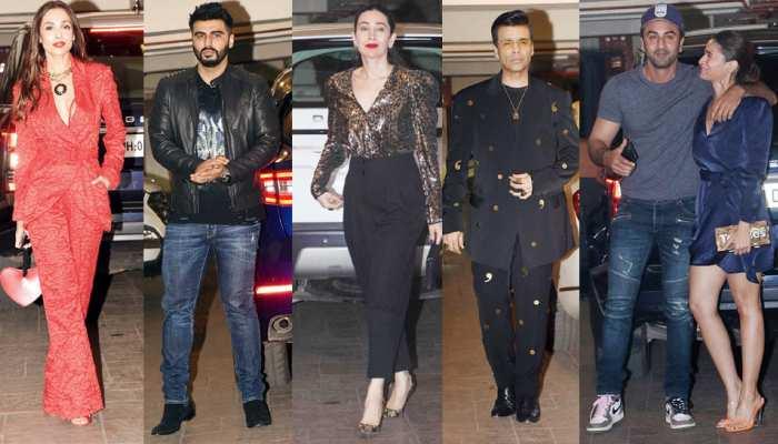 Kareena Kapoor Khans christmas bash ranbir kapoor alia bhatt to arjun kapoor malaika arora these bollywood celebs enjoys the party