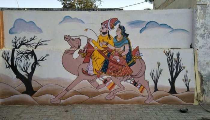 डूंगरपुर नगरपरिषद ने शुरू की वॉल पेंटिंग प्रतियोगिता, 1 हजार बच्चों ने लिया हिस्सा