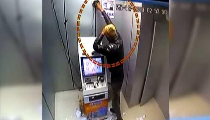 धौलपुर में अज्ञात बदमाशों ने एटीएम को निशाना, 8 लाख लेकर हुए फरार