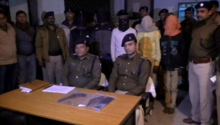 दानापुर: देसी कट्टा, 6 जिंदा कारतूस के साथ 9 अपराधी गिरफ्तार