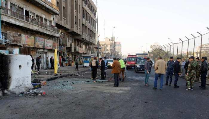 इराक: बगदाद में बम धमाका, 1 नागरिक की मौत, 4 घायल