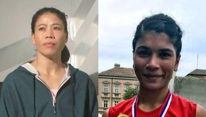 मैरी कॉम ने निखत को हराकर जीता ओलंपिक ट्रायल, पर हाथ नहीं मिलाया, दोनों में बढ़ी तकरार
