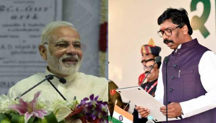 रांची: PM मोदी ने CM हेमंत सोरेन को दी बधाई, कहा-हर संभव सहायता का आश्वासन देता हूं