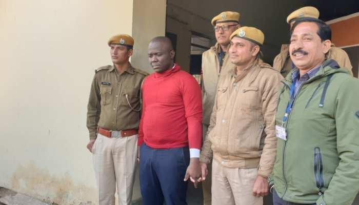 नाइजीरियन ठग का हुआ खुलासा, राजस्थान SOG ने पकड़ा आरोपी को