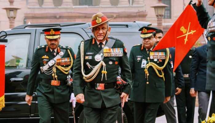 आज देश के पहले CDS के रूप में पदभार संभालेंगे जनरल बिपिन रावत