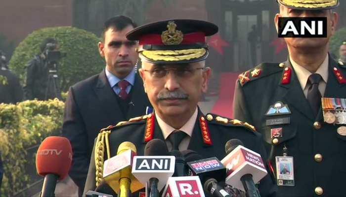 नए साल पर नए जनरल का प्रण, 'आने नहीं देंगे देश की आन पर आंच'