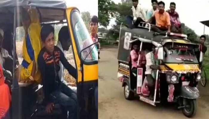 MP: रतलाम में नाबालिग चला रहे हैं ओवरलोड वाहन, आफत में सवारियों की जान
