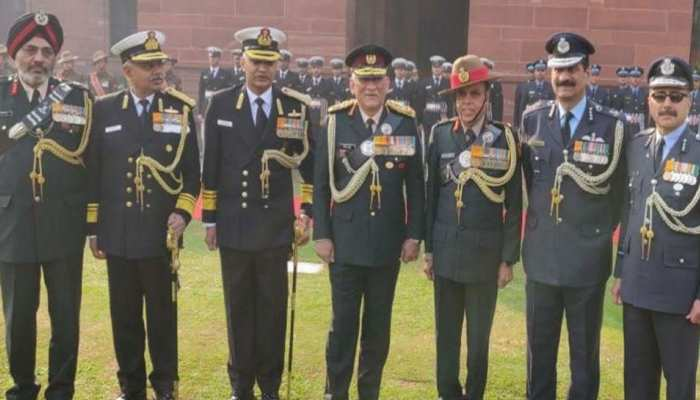 ये है देश के पहले CDS जनरल बिपिन रावत की पूरी टीम, देखें Picture