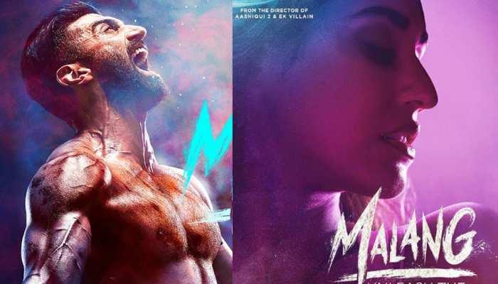 रिलीज हुए 'मलंग' के दो पोस्टर्स, नजर आया दिशा का ग्लैमर और आदित्य की मसल बॉडी
