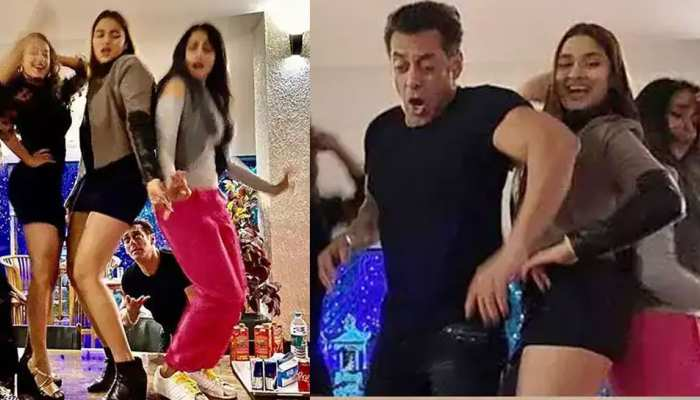 न्यू ईयर पार्टी में सलमान खान ने इन हसीनाओं के साथ किया जमकर डांस! PHOTOS हुईं VIRAL