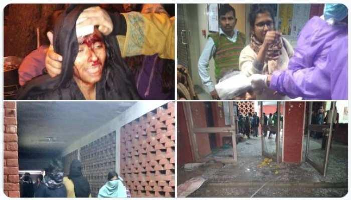 JNU में फिर भड़की हिंसा की आग
