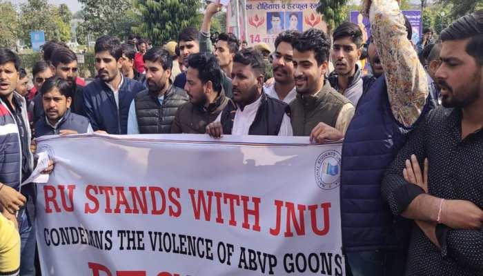 JNU विवाद को लेकर राजस्थान यूनिवर्सिटी में हंगामा, आमने-सामने आए NSUI और ABVP